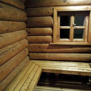 Баня. Комната для переодевания и отдыха