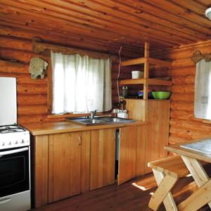 Хорошо оборудованная кухня с отдельным входом