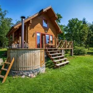 Гилужио дом с баней