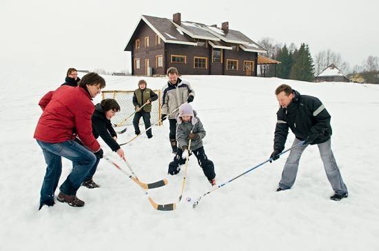 Зимние развлечения в Литве